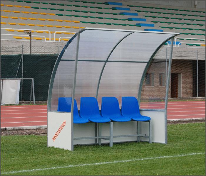 Banco Fútbol - Bancos Suplentes para equipo