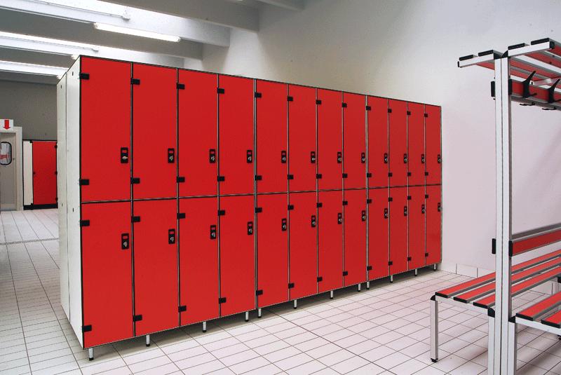 Armadietti Spogliatoio Per Palestra.Armadi Spogliatoio In Laminato Sport System