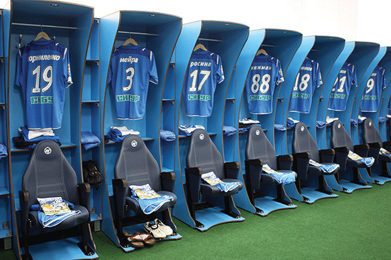 Panchine Spogliatoio Calcio : Arredo spogliatoio » sport system
