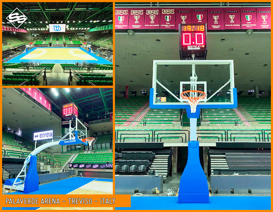 Hydrolpay ACE at PalaVerde Arena in Treviso Italy